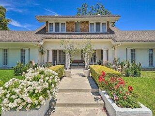 NEW! Elegant, Historical Santa Ana Home w/ Gardens