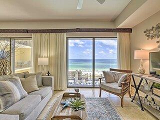 NEW! PCB Condo: Ocean View, Balcony & Beach Access