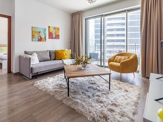 Vibrant 1BR in Downtown with Amazing City Views!
