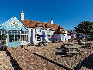 Seaside at New Beach Holiday Park, Dymchurch, Kent