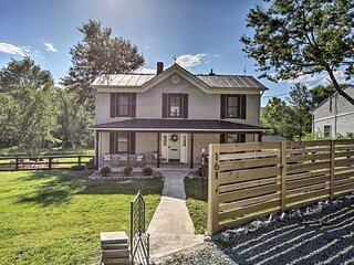 NEW! Beautiful Afton Farmhouse By Hikes & Wineries