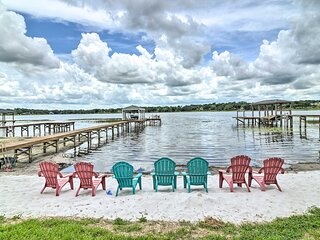 NEW! Family Friendly Home w/ Private Pool + Dock!