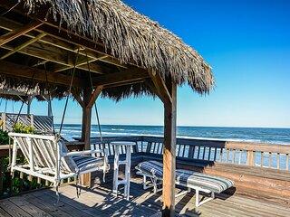 5747S - Large Oceanfront Deck & Cabana
