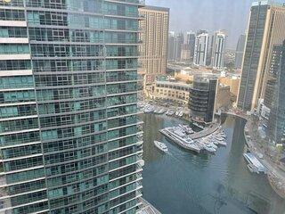 Stunning views at Cosy & Chic Dubai Marina