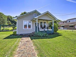 NEW! Cozy Cottage w/ Porch & Creeper Trail Access!