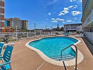 Oceanfront Resort Studio on Virginia Beach!