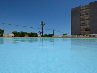 Tourist Rental Paco Apartment, community pool Rocio Mar Torrevieja
