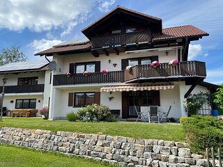 Lovely apartment in Wildsteig with furnished garden and bbq