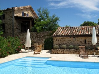 Serene Holiday Home in Rosières with Pool