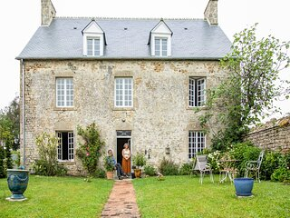 Lovely holiday home in Picauville with a furnished garden