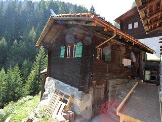 Mountain-view Holiday Home in Binntal near Lengtal Deck