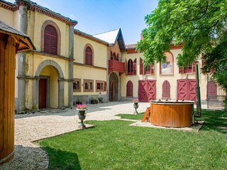Heritage apartment in Piemonte with garden and bbq