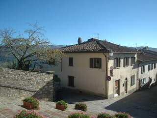 Welcoming Holiday Home in Panzano in Chianti with Balcony