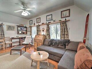 NEW! Cozy Cabin < 1 Mi to Soda Springs Mtn Resort