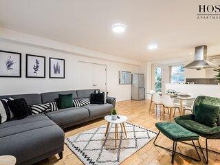 Modern & Spacious 2 Bedroom Apt in Ropewalks Area