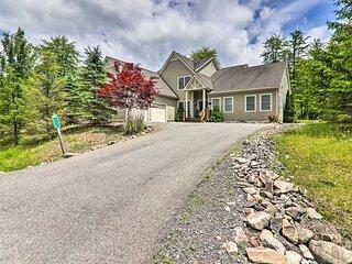 NEW! Large Family Home Near Pocono Lake w/ Deck!
