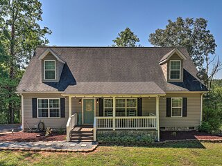 NEW! Updated Home w/ Deck + Fire Pit, Near Golfing