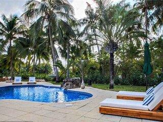 Prestigious & Tranquil Beach house with heated pool