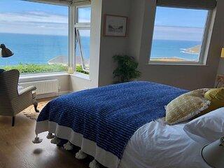 Pipers Pool | Unrivalled Sea Views | 3 Bedrooms / Sleeps 6 | Woolacombe