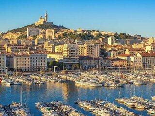 Beau T3 à Marseille pour 4 personnes