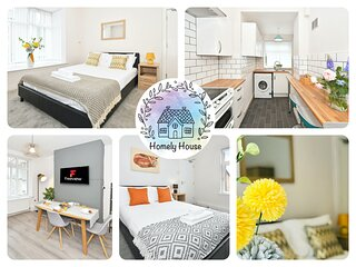 5 double bedrooms, 3 stories, Wistaston House!