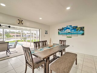 NEW! Stunning Port Charlotte Abode w/ Private Dock
