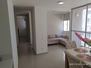 Hermoso Apartamento Amoblado 2 Habitaciones