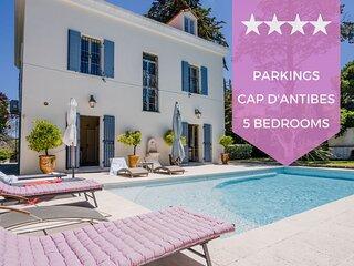 KIKILOUE ❤️ RARE ❤️ Villa 7 pieces Cap d'Antibes ! A pied des plages !