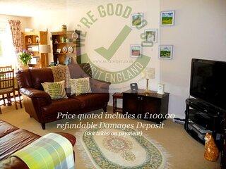 No 31 Belper Derbyshire quote inc £100  damages deposit (not taken on payment) .