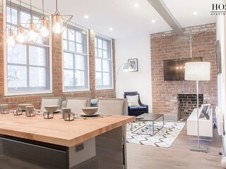 Warehouse Apartment in Central Liverpool