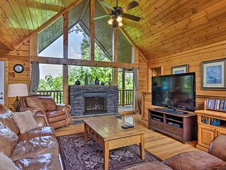 Sevierville Cabin w/ Games, Hot Tub & 4 King Beds!