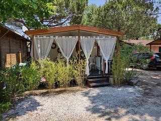 Toscane | Italië | Chalet aan zee | Mobile Home | Camping Paradiso in Viareggio