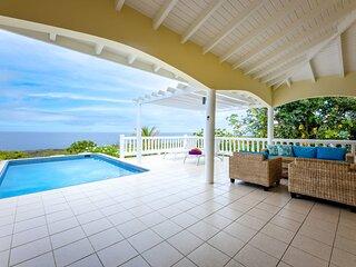 ☀️ Enjoy Caribbean Sunset from your Sun Terrace & Pool ☀️