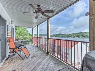 NEW! Condo on Lake of The Ozarks w/ Pool & Dock!