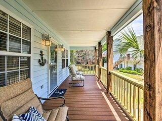 NEW! Bright Home w/ Patio & Yard, Walk to Beach!