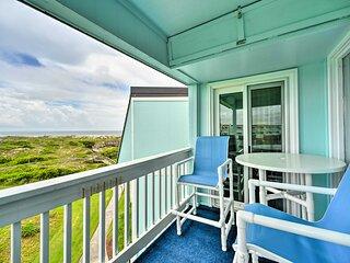 NEW! Chic Condo w/ Balcony & Pool - Walk to Beach!