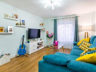 El CAPRICHO DE MARIA 'DELUXE'.  apartamento turistico, a 50 metros de la playa