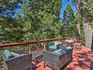 Expansive Retreat w/ Deck, Game Room & Lake Views!