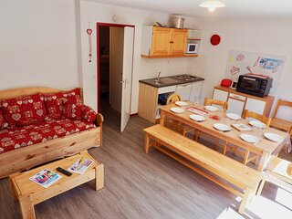 Bel appartement renove 10 pers centre station duplex
