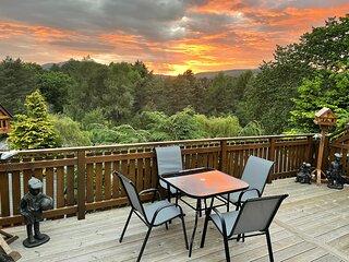 Beautiful 2 bedroom Lodge with stunning views