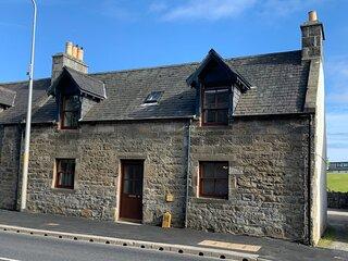 Highland Cottage in Brora Scotland
