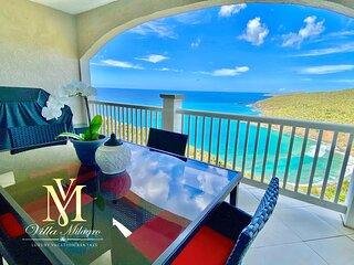 Private Beach Views! Luxury Villa Milagro - 50 Shades theme