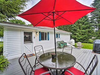 NEW! Milford Cottage on Half Acre w/ Deck & Grill!