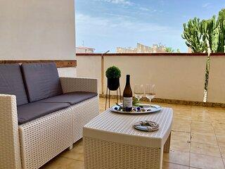 Cozy Beach Apartment 100 metres from the beach, Alcamo Marina, Sicily, Italy