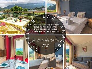 BAIE DES VOILES - #102 Vue lac & Chateau 1 chambre