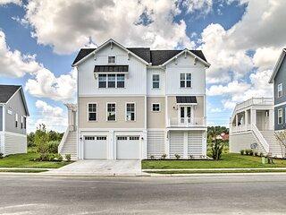 NEW! Upscale Coastal Home, 2 Mi to Bethany Beach!