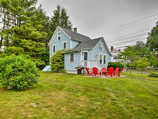 NEW! Beautiful Colonial Home: Walk to Dtwn Mystic!