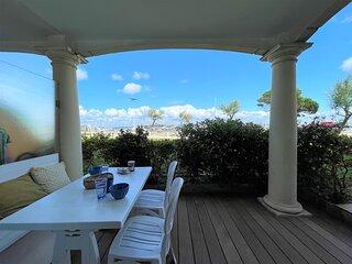 Arcachon Face bassin Beau T3 pour 4 pers. avec terrasse en rez-de-jardin et