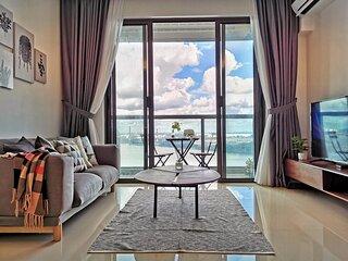 Sea View Romantic Johor 1Bedroom R&F PrincessCove