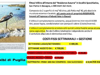 Villino indipendente in Residence a 300 mt dal mare